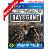 Days Gone Ps4 Psn Br Digital Primária Jogue Na Sua Conta