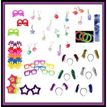 50 Colar Pisca 50 Óculos 50 Tiaras 100 Neon Kit Festa
