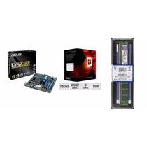 Kit Asus M5a78l-m/usb3 140w + Fx 6300 6 Core + 4gb 1600mhz
