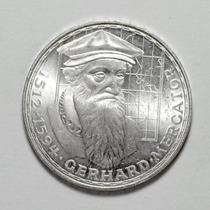 Moeda Prata Alemanha Comemorativa De 5 Marcos Ano De 1969