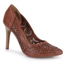 Sapato Scarpin Feminino Via Marte - Caramelo
