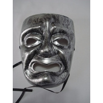 Mascara Teatro Prata Drama Carnaval Festa Vintage