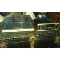 Conjunto Toca Disco Com Amplificador Gradiente