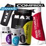 Kit Whey Proten Mass 3kg Bcaa 2400 Glutamina Cretina - Max