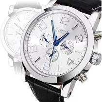 Relógio Masculino Automático Jaragar Cronos Funcionais