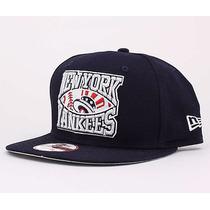 Boné New York Yankees Mlb N E Snapback Skate- Pronta Entrega