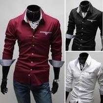 Camisa Social Slim Fit Importada Frete Grátis+de 80 Modelos!