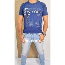 Calça Jeans Masculina Skinny Com Lycra Grandes Marcas
