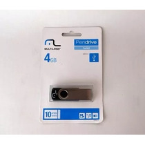 Pen Drive 4gb Multilaser Limitado A 6 Peças.