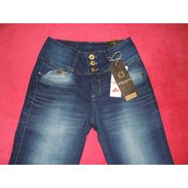 Calça Jeans Feminina Cintura Alta Até O Tamanho 52