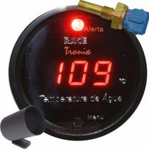 Medidor Temperatura Água Digital Carro Racetronix Copo 52mm