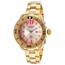 Relógio Invicta Pro Diver 19821 - Dourado Feminino