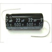 Capacitor Eletrolitico Axial 22uf 500v 105º
