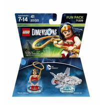 Novo Lacrado Lego Dimensions Mulher Maravilha Fun Pack
