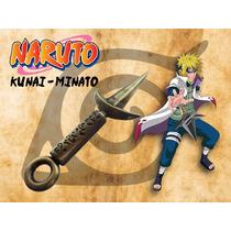 Kunai - Minato - Naruto - Feito Em Metal - Ov