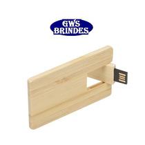 Pen Drive Pen Card 4 Gb 4gb Memoria Formato Madeira