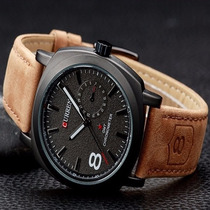 Relógio Curren Gmt Chronometer Sport - Pronta Entrega