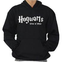 Blusa Hogwarts School Moleton Harry Potter +frete Gratis