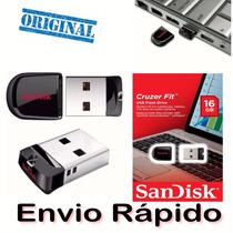 Pen Drive 16gb Sandisk Ultra Mini Micro Cruzer Fit Nano Pro
