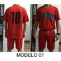 Fardamento Futebol 10 Camisas 10 Calções Pronta Entrega W3
