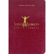 Bíblia Louvor E Adoração - Capa Luxo Bordô