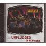 Nirvana Mtv Unplugged In New York Novo Lacrado Cd Import Eua