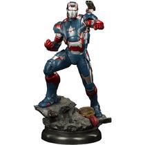 Estátua Iron Patriot - Iron Man 3 - Maquette Statue