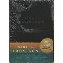 Bíblia Thompson Aec - Letra Grande | Luxo Preta Frete Grátis