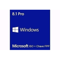 Windows 8.1 Pro - Chave Original- Fpp Upgrade Windows 10 Pro