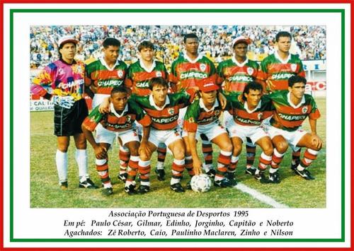 Camisa Portuguesa Chapecó Original 1995 Lusa Impecável - 88. Preço  R  269  Veja MercadoLibre 5c0d5f1aabe5e