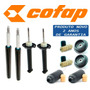 Kit 4 Amortecedor Parati Surf / Track Field + Kit + Coxim