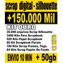 3400 Kits Para Scrapbook Digital + Kit Ouro