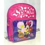 Mochila Escolar Infantil Minnie Mouse Pequena Menina
