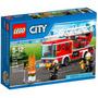 Lego City - Caminhão De Bombeiros Com Escada 60107