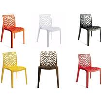 Cadeira Gruvyer - Alto Brilho - Italiana - Polipropileno