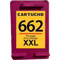 Cartucho 662 Color Xxl Com 15 Ml De Tinta + Brinde 1516 2516