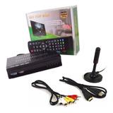 Conversor De Tv Digital Gravador Full Hd + Antena Interna