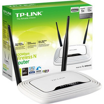 Roteador Sem Fio Wireless 300mbps Tp-link Wr841n 802.11n
