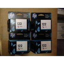 Cartucho Original Hp Ch562hl Ch562hb 122 Color P/ 2050 3050