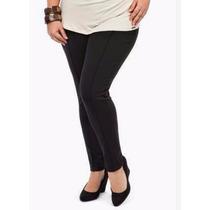 Calça Legging Montaria Em Suplex - Com 4 Bolsos - Plus Size.