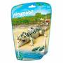 Saquinho Playmobil Animais Do Zoológico Crocodilo S2 6644