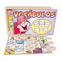 Vocábulos Português Com 240 Cartões E 6 Placas- Brinquedos