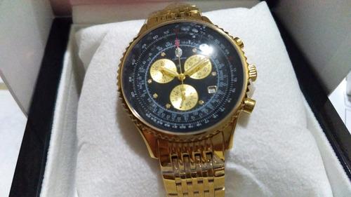 eddef9d37ac Relógio Constantim Chronograph Banh Ouro E 7 Pts - R  1750 en ...