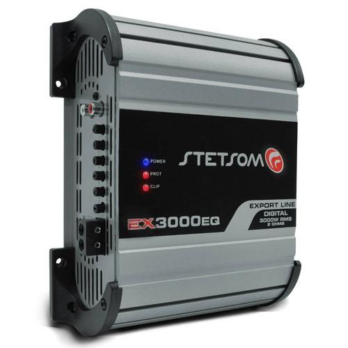 Módulo Stetsom Ex3000 Eq 3000w Rms 2 Ohms 1 Canal Lançamento