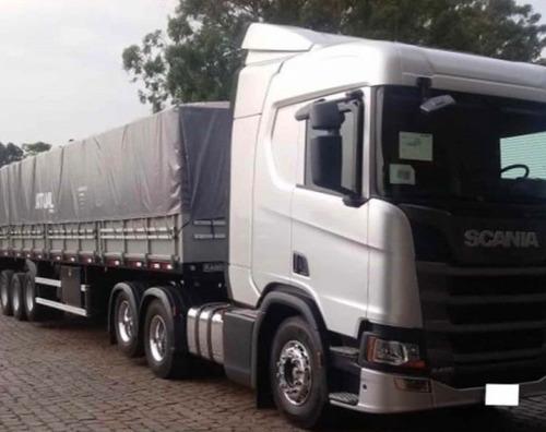 SCANIA R 450 C/ CARRETA LS 2019 C/ TRANSF.DA DIVIDA