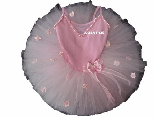 d0d003ffc8 Kit Bailarina Tutu Figurino Ballet Roupa Fantasia Infantil à venda ...