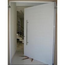 Porta Pivotante Em Alumínio Liso 1100mmx2200 - Esquadrirmãos