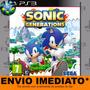 Jogo Ps3 Sonic Generations Código Psn Envio Agora