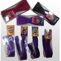Kit 4 Mechas Roxa Tic Tac + 3 Turbantes - Isabela Sbt
