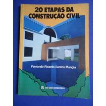 Livro - 20 Etapas Da Construção Civil - Fernando Ricardo